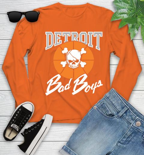 Detroit Bad Boys Youth Long Sleeve 3