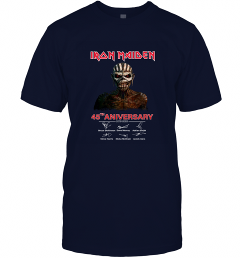 1975 2020 Iron Maiden 45th Anniversary T-Shirt