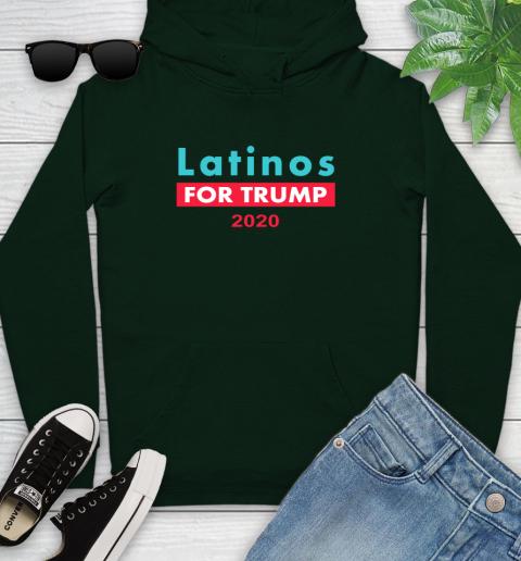 Latinos Trump 2020 Youth Hoodie 13