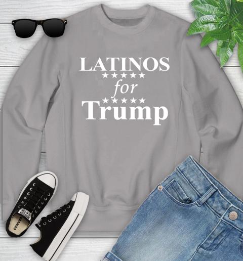 Latinos For Trump Youth Sweatshirt 3