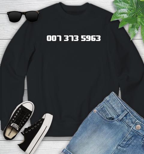 007 373 shirt Youth Sweatshirt